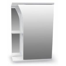 Зеркало-шкаф Виола 500 белый AQUALINE