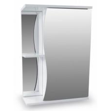 Зеркало-шкаф Волна 500 белый AQUALINE