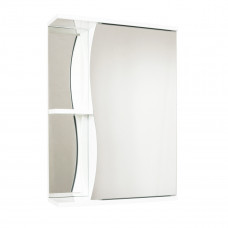 Зеркало-шкаф Волна 60 белый AQUALINE