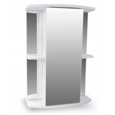 Зеркало-шкаф Мадрид 500 белый AQUALINE