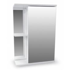Зеркало-шкаф Николь 500 белый AQUALINE