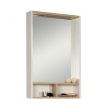 Зеркало-шкаф Акватон Йорк 55 (1A173202YOAV0) белый/ясень фабрик