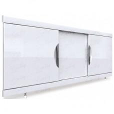 Экран под ванну Валенсия из алюминиевого профиля с дверцами из МДФ 150 см