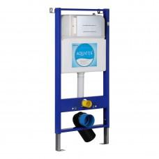 Инсталляция для унитаза Aquatek Slim 113x51 INS-0000007 клавиша хром матовый