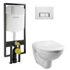 Комплект VitrA Normus 4 в 1 9773B003-7200 с микролифтом