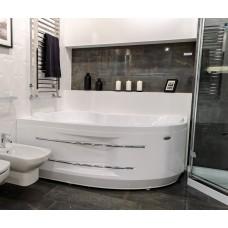 """Акриловая ванна """"Ирма 160x105"""" 1600 x 1050 левая"""