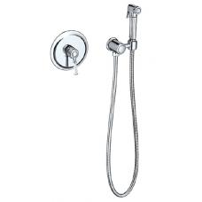 Смеситель встроенный с гигиеническим душем Timo Arisa 5309/00SM хром