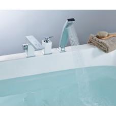 Смеситель на борт ванны Lemark Contest LM5845CW на борт ванны