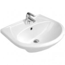 Раковина для ванной Erica 50 встраиваемая, 1 отверстие, S-UM-ERI50/1-w, Cersanit