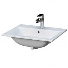 Раковина для ванной встраиваемая ONTARIO 50, 1 отверстие, белая, P-UM-On50/1, Cersanit