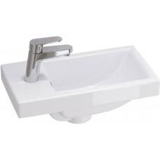 Раковина для ванной Cersanit COMO 40, P-UM-COM40/1, 1 отверстие, встраиваемая, белая