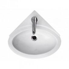 Раковина для ванной Cersanit TETA, P-UM-Te/1, встраиваемая, угловая