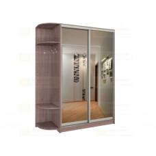 Шкаф-купе 2-х дверный с зеркалом и приставным элементом Версаль 220 К3