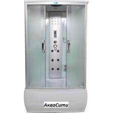 Душевой бокс ВМ-8309M (120x80x215) задняя стенка белая/мат.