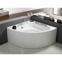 Гидромассажная ванна Frank F150 угловая 135*135