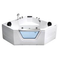 Гидромассажная ванна Frank F154 угловая 150*150