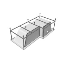 Рама для ванны Vayer Options