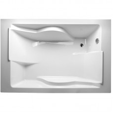 Акриловая ванна Vayer Coral 180*120