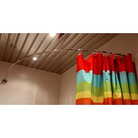 Карниз шторы на ванну Vayer Azalia