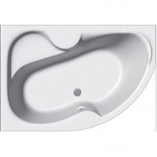 Акриловая ванна Vayer Azalia 170*105 левая