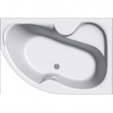 Акриловая ванна Vayer Azalia 150*105 правая