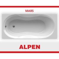 Акриловая ванна Alpen Mars 120х70 цвет Snow white