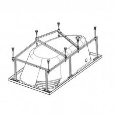 Каркас для ванны Alpen 150x100 (KMA150100)
