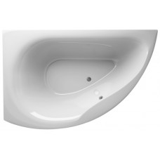 Акриловая ванна Alpen Dallas 160*105 L цвет Snow white, левая (AVB0012)