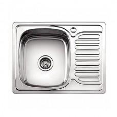 Мойка кухонная Ледеме серии глянцевая ---63*50 толщина 0,8 мм L