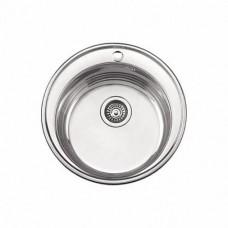 Мойка кухонная серии глянцевая ---D 49 толщина 0,8 мм