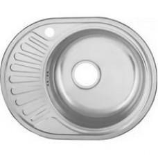 Мойка кухонная Ледеме серии декор---57*45 толщина 0,8 мм R