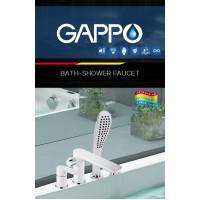 Смеситель врезной Gappo на 3 отв
