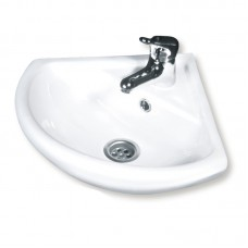 Раковина для ванной (ROSA) угловой белый н/к с/о