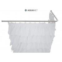 Карниз для ванны Aquanet угловой Г-образный 190х100