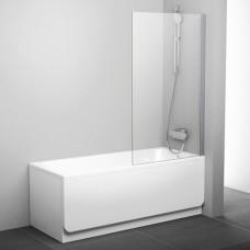 Шторка для ванны Ravak PVS1 80 Pivot 79840C00Z1 (хром + транспарент)