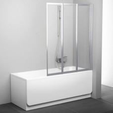 Шторка для ванны Ravak VS3 100 795P0100Z1 Supernova (белый + транспарент)