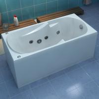 Акриловая ванна Bas Мальдива 160x70 в комплекте каркас
