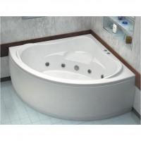 Акриловая ванна Bas Мега 160x160 в комплекте каркас
