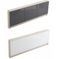Модуль для ванны Smart, серый, белый  160 см 170 см