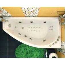 Акриловая ванна Triton Бэлла левая 140*75 ( каркас + слив перелив)