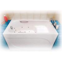 Ванна Triton Арго с сиденьем 120*70 ( каркас + слив перелив)