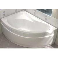 Акриловая ванна Bas Вектра 150x90 L в комплекте каркас