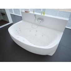 Акриловая ванна Акватек Мелисса 180x95 каркас, слив перелив