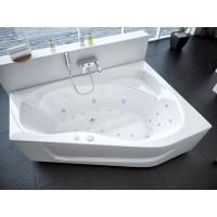 Акриловая ванна Акватек Медея 170x95 R правосторонняя каркас, слив перелив