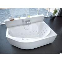 Акриловая ванна Акватек Таурус 170x100 R правосторонняя каркас, слив перелив