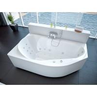 Акриловая ванна Акватек Таурус 170x100 L левосторонняя каркас, слив перелив