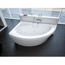 Акриловая ванна Акватек Аякс 170x110 L левосторонняя каркас, слив перелив