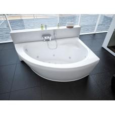Акриловая ванна Акватек Аякс 170x110 R правосторонняя каркас, слив перелив