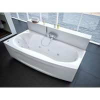 Акриловая ванна Акватек Пандора 160x75 L левосторонняя каркас, слив перелив