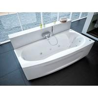 Акриловая ванна Акватек Пандора 160x75 R правосторонняя каркас, слив перелив